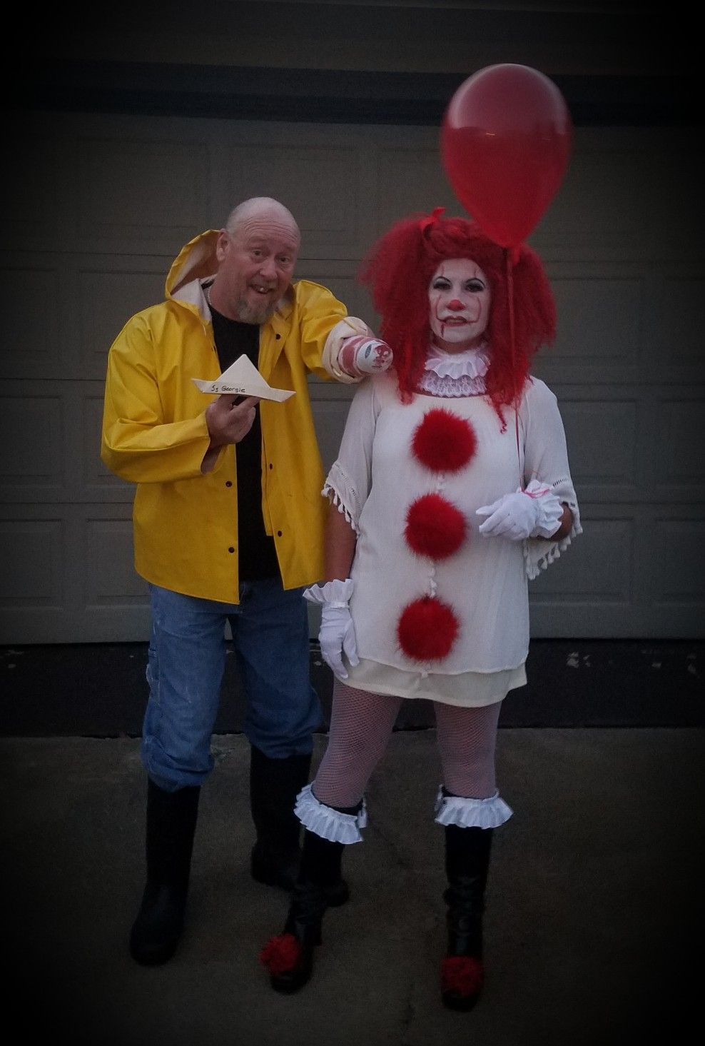 Georgie and Pennywise From 'It'