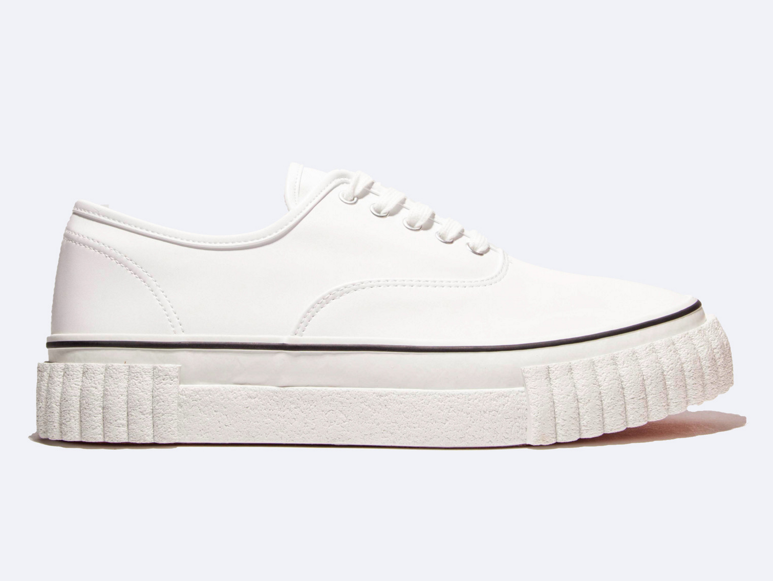 Ganyru, Leather Creeper Lace-Up Sneaker