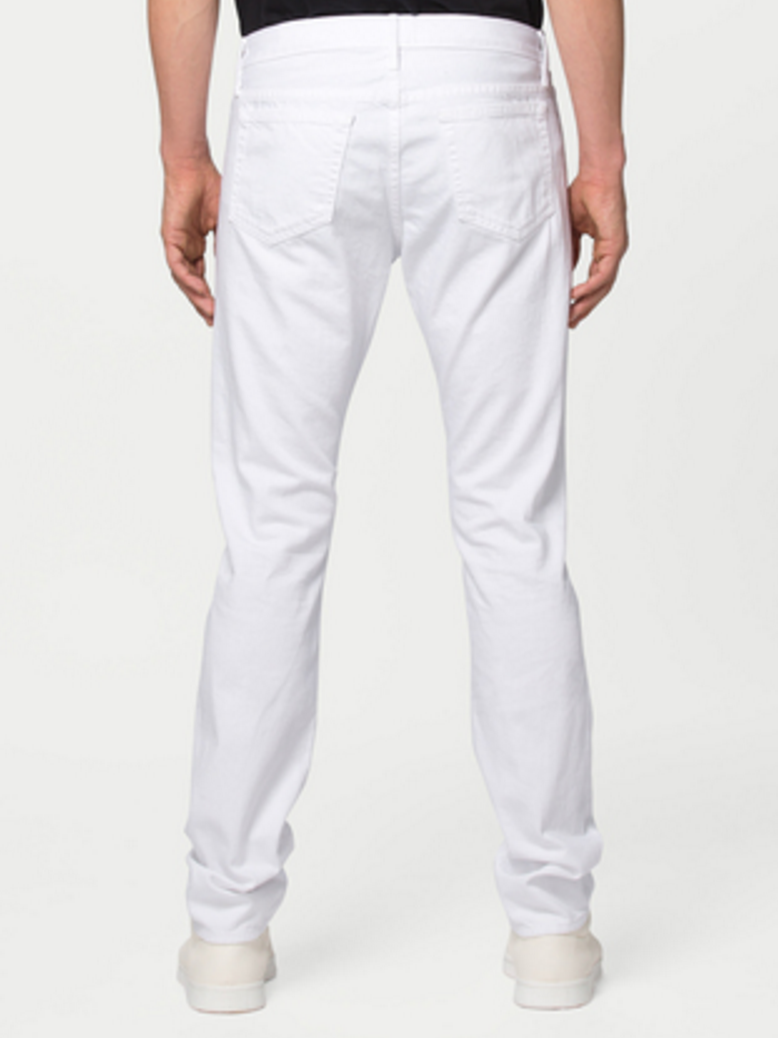 L'Homme Straight, in White