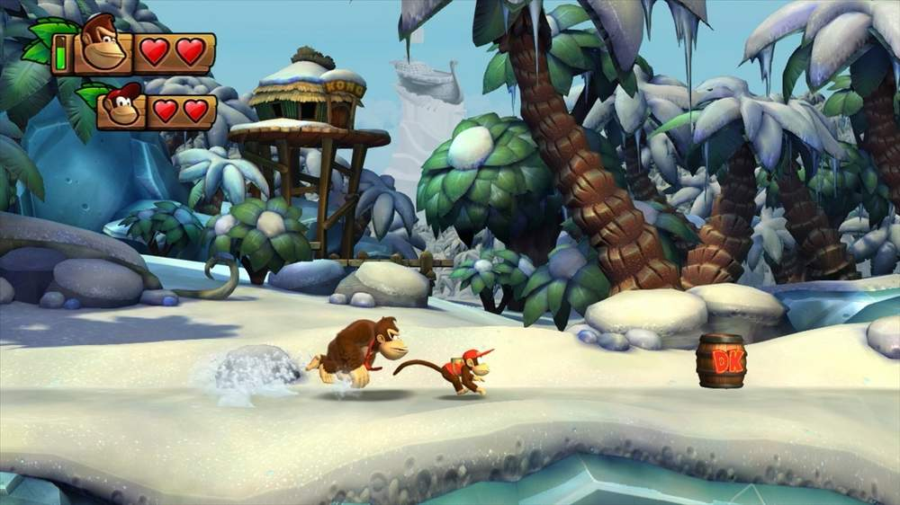'Donkey Kong Country: Tropical Freeze'