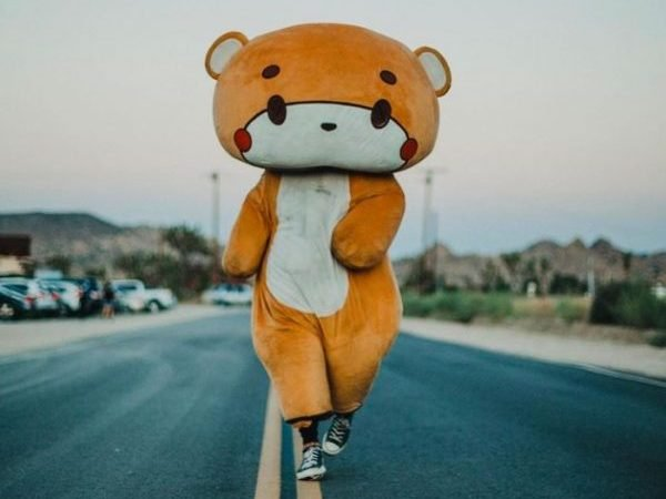 Meanwhile in California: Man in Bear Suit Attempts to Walk From LA to San Francisco Without Getting Shot or Run Over