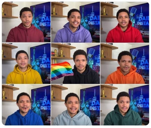 Mandatory Questions: Where Does Trevor Noah Stash All Those Quarantine-Style Hoodies While Living in New York?
