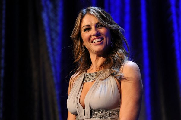 Elizabeth Hurley Shows Off Staycation Style in Topless Bikini Pic on Instagram (If Only She Were Looking For a Roommate!)