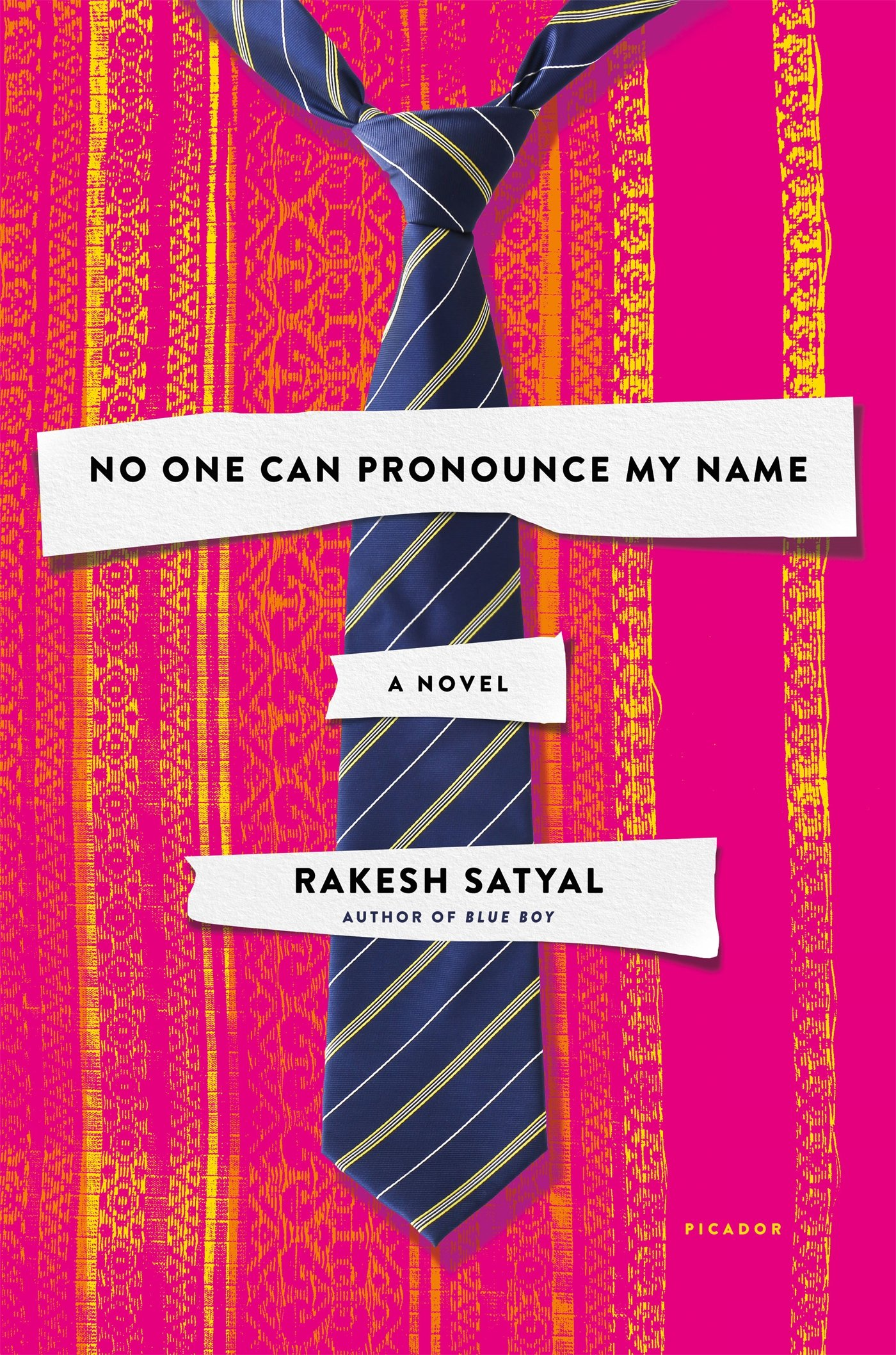 'No One Can Pronounce My Name: A Novel' by Rakesh Satyal