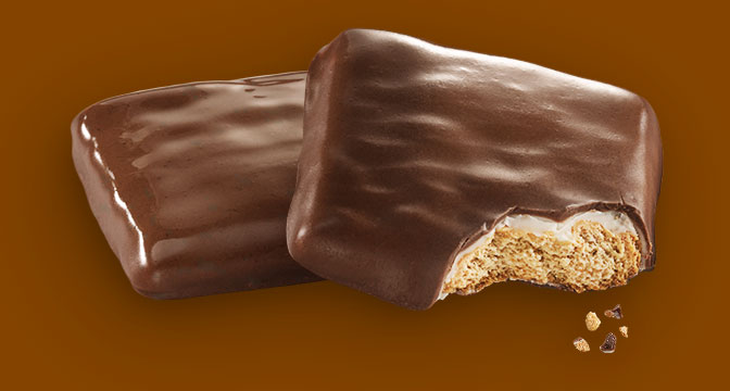 7. Chocolate-Dipped Girl Scout S'mores