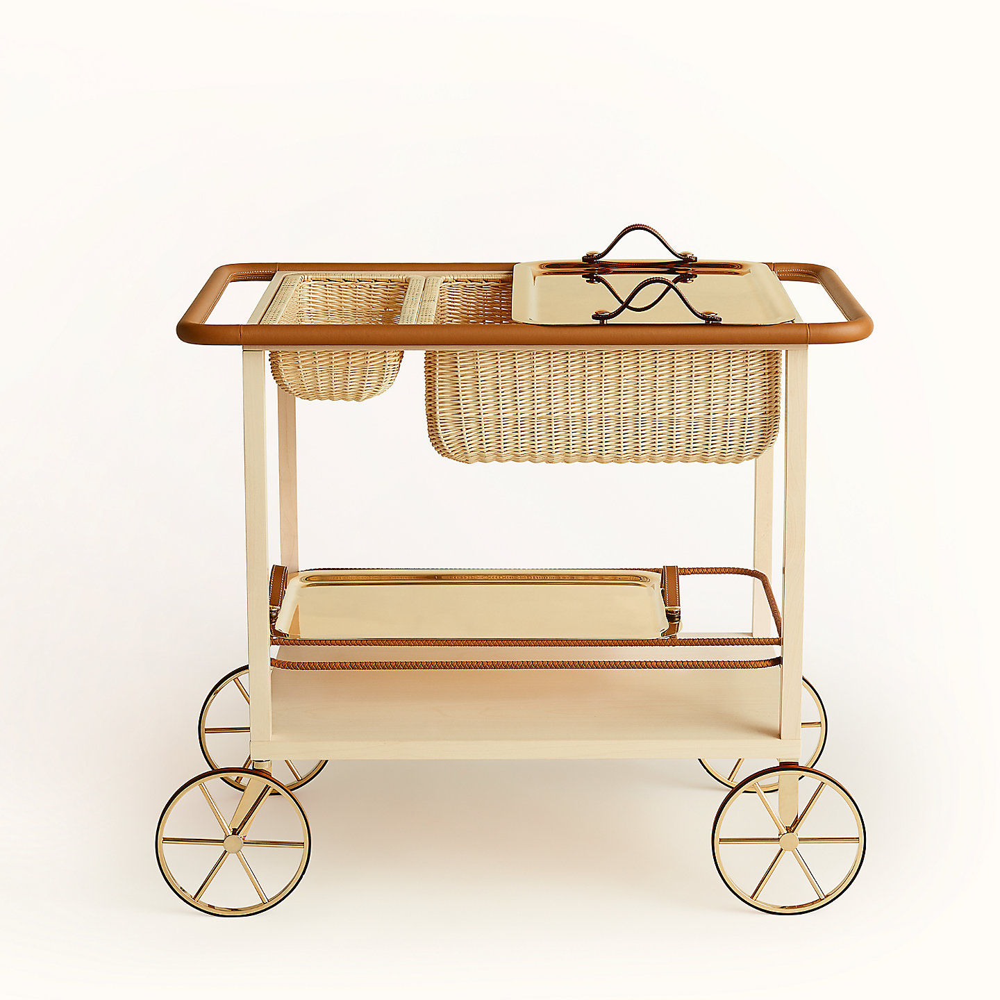 7. Equipages d'Hermes 'Diligence' Side Table ($40,900)
