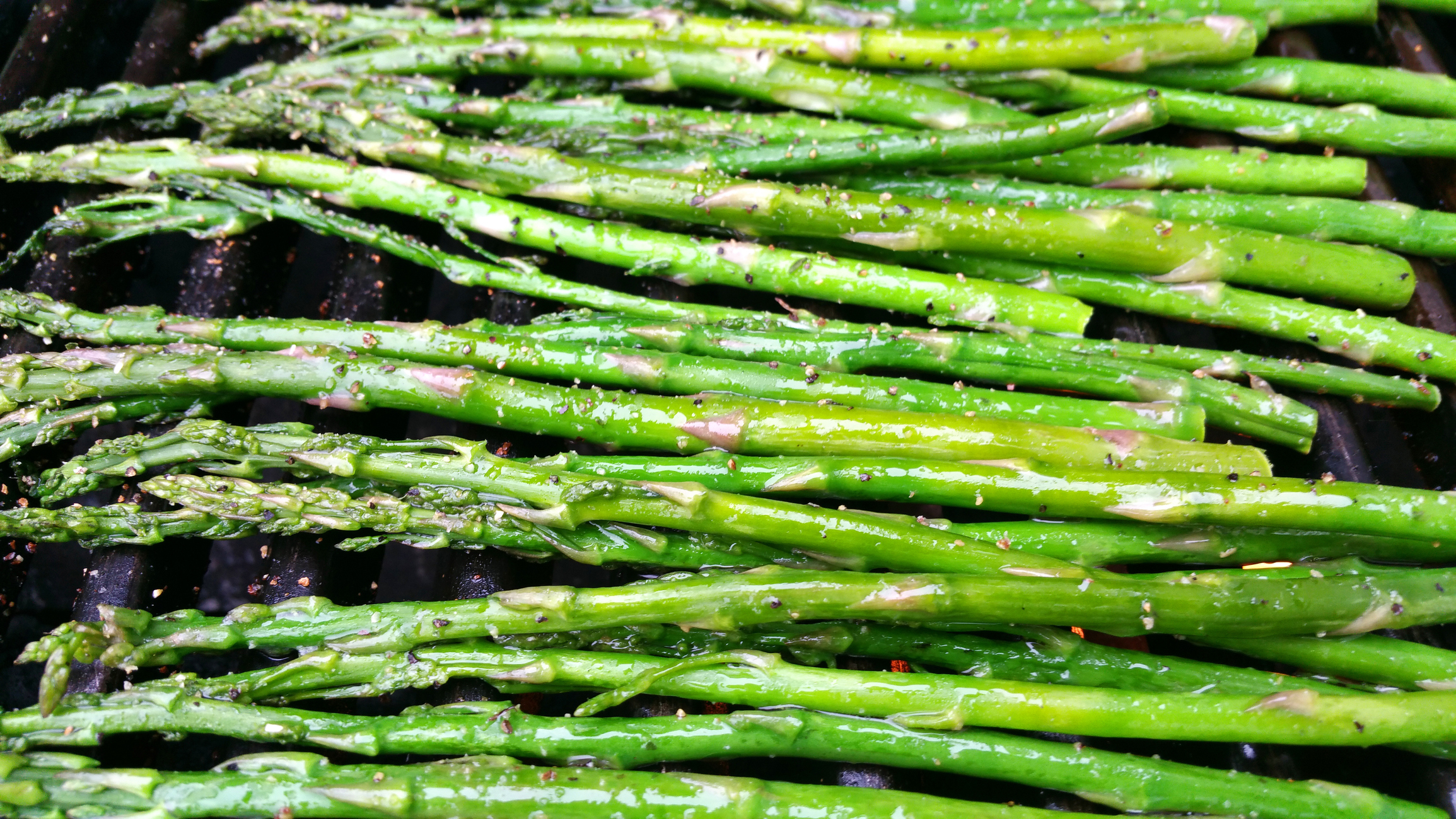 Smoky Grilled Asparagus