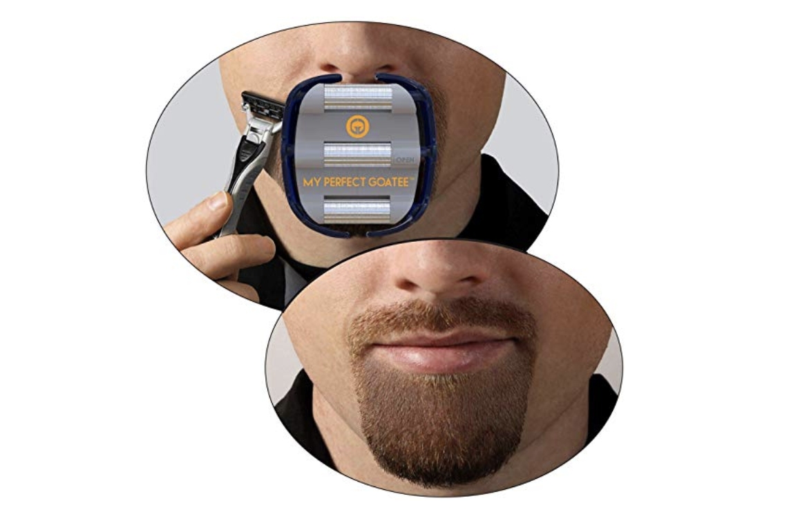 My Perfect Goatee Shaving Template