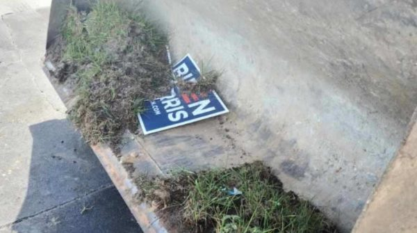Meanwhile in Florida: Drunk Man Steals Bulldozer to Knock Down Biden-Harris Signs, Not Exactly Stealth