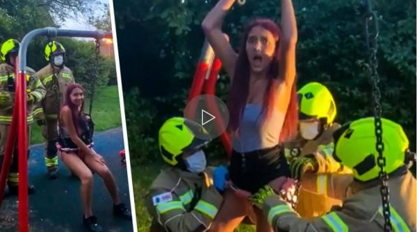 Social Media Gone Bad: Firefighters Forced To Save TikTok Teen Stuck In A Baby Swing