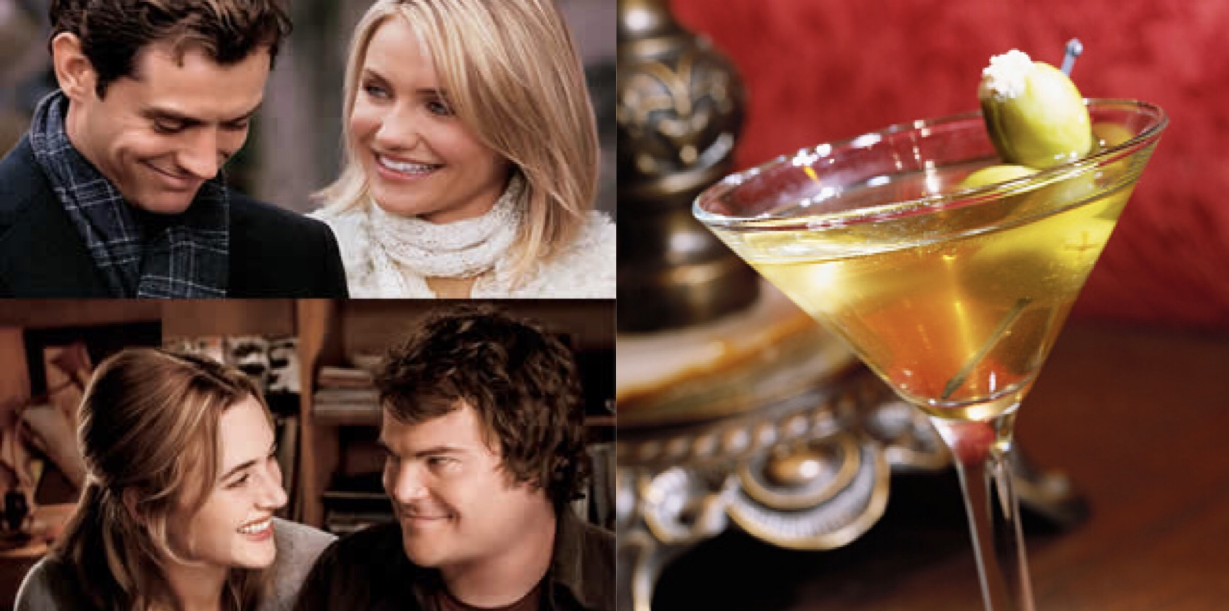 'The Holiday' and a Dirty Martini