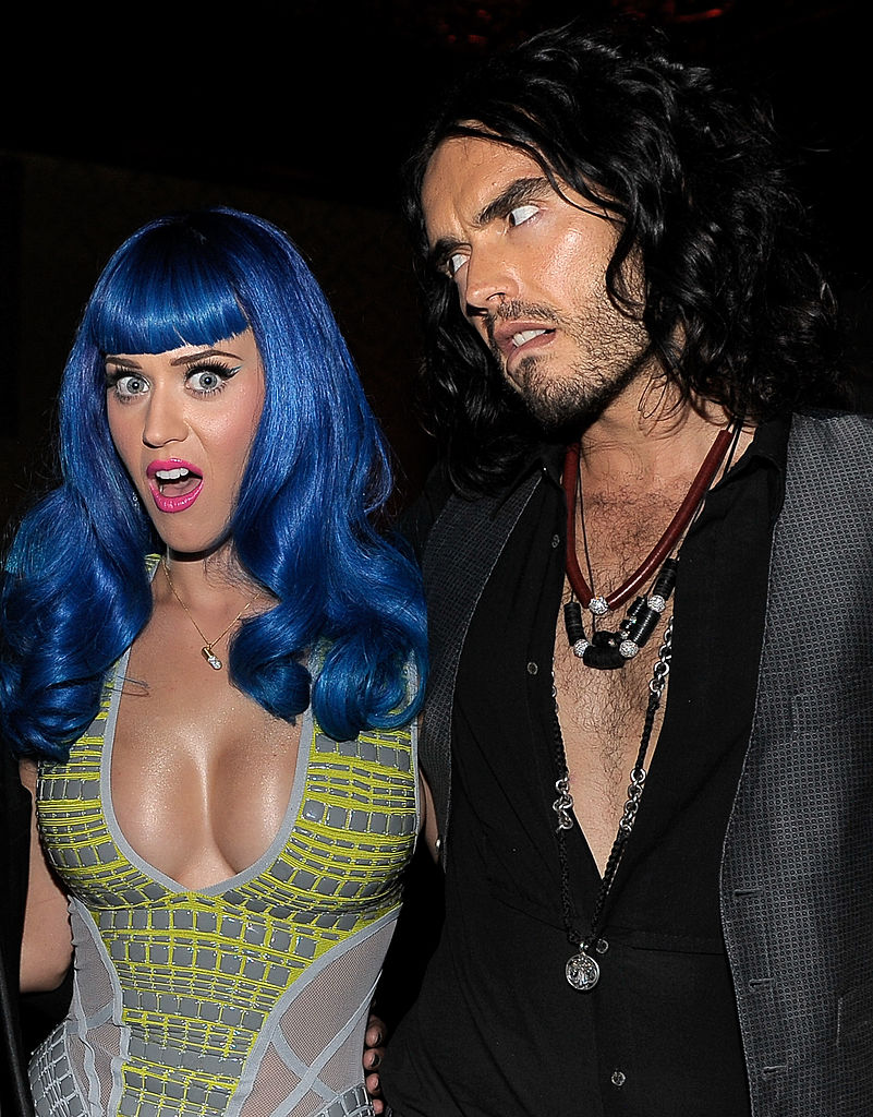 6. Katy Perry and Russell Brand