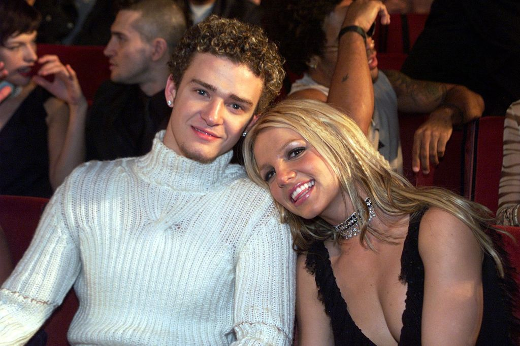 10. Britney Spears and Justin Timberlake