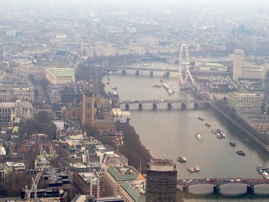London Guest of Honor by Helicopter