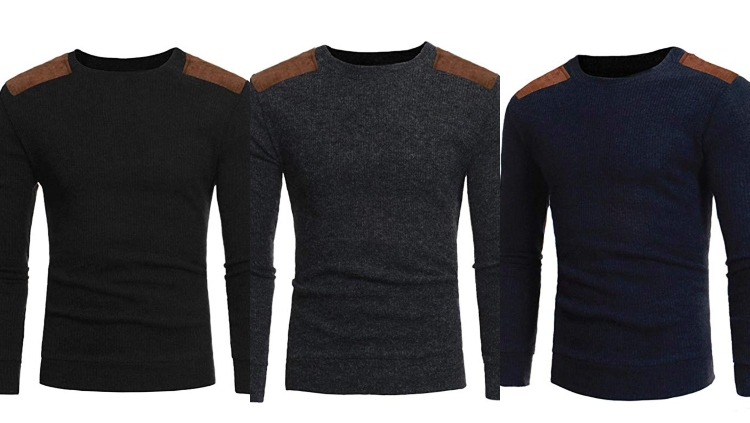 Kaifongfu Men's Autumn Sweater