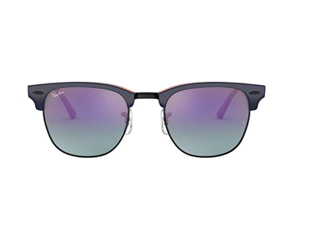 Ray-Ban RB3016F Clubmaster Square Sunglasses