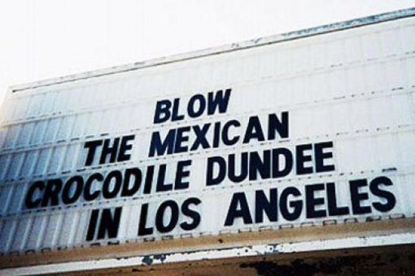 The 20 Funniest Movie Marquees to Entertain You Until Theaters Reopen