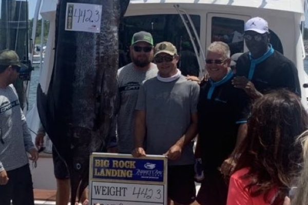 Michael Jordan and Crew Catches 442-Pound Marlin, Likely After Hearing 'Finding Nemo' Was Bigger Than 'Space Jam'