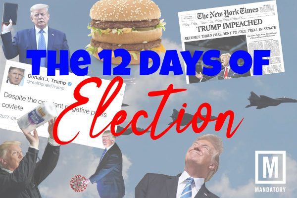The 12 Days of the Election: A Christmas Classic Parody For Voters