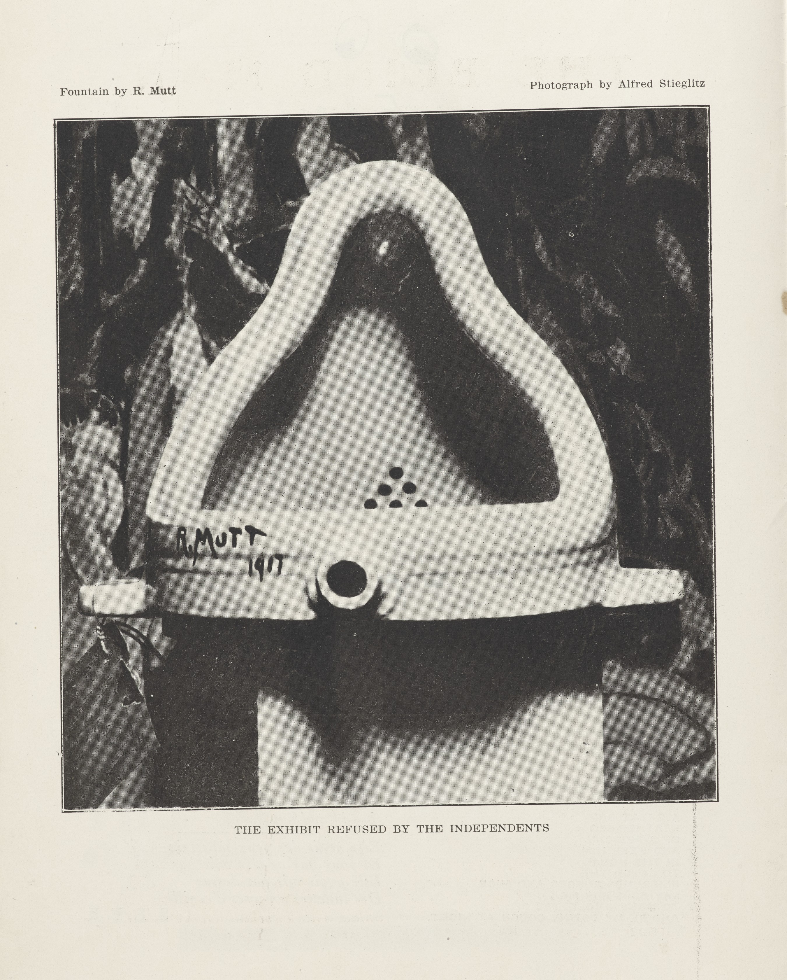 """""""Marcel Duchamp and the Fountain Scandal"""" Exhibit at the Philadelphia Museum of Art"""