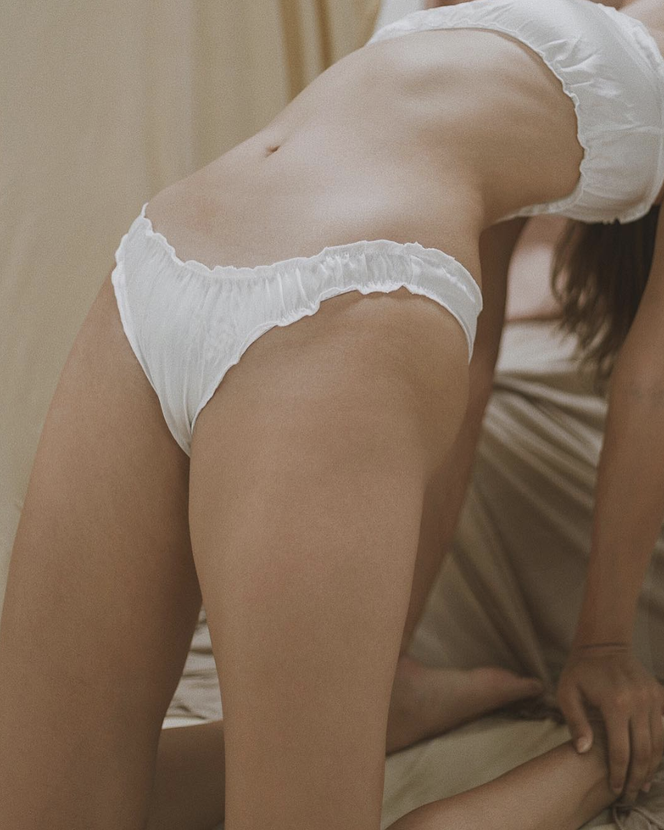 What's the funniest thing you've experienced in trying to create your own underwear line?