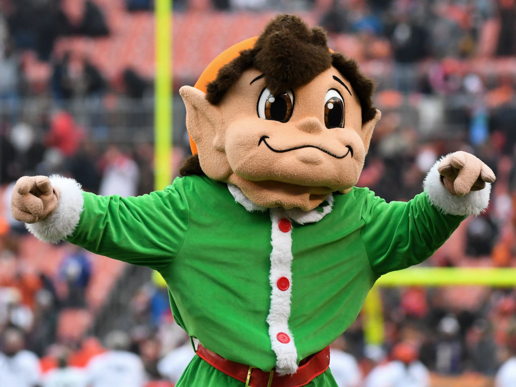 4. Brownie the Elf (Cleveland Browns)