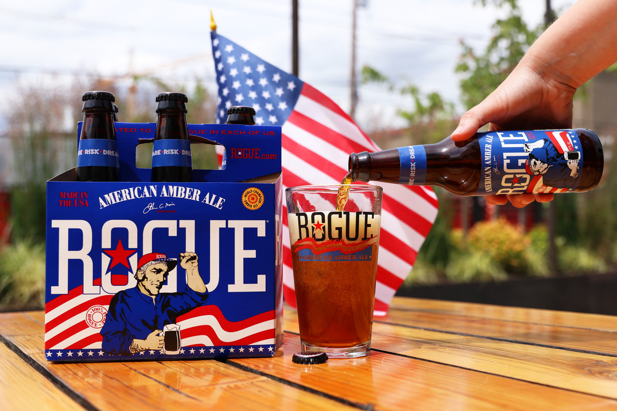 1. Rogue American Amber Ale