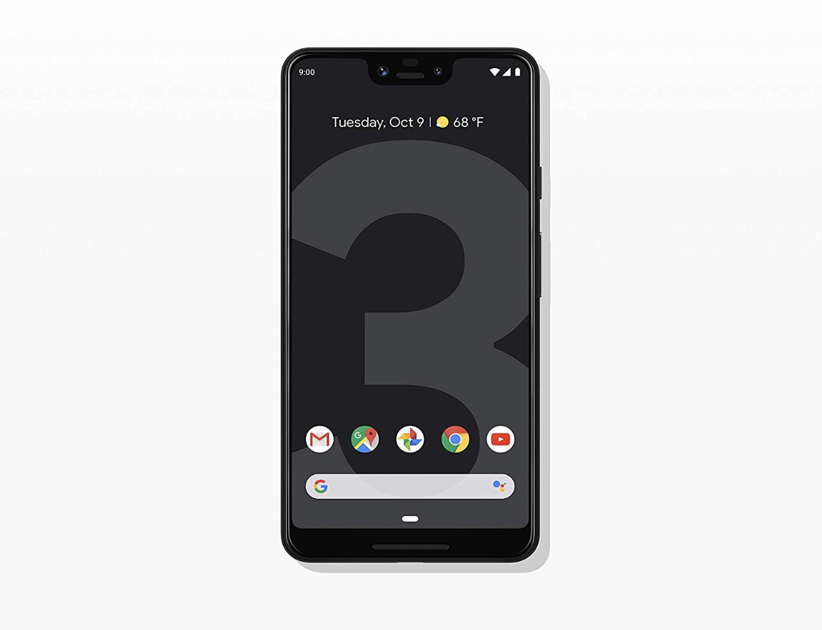 Google - Pixel 3 XL With 64GB Memory Cell Phone (Unlocked)