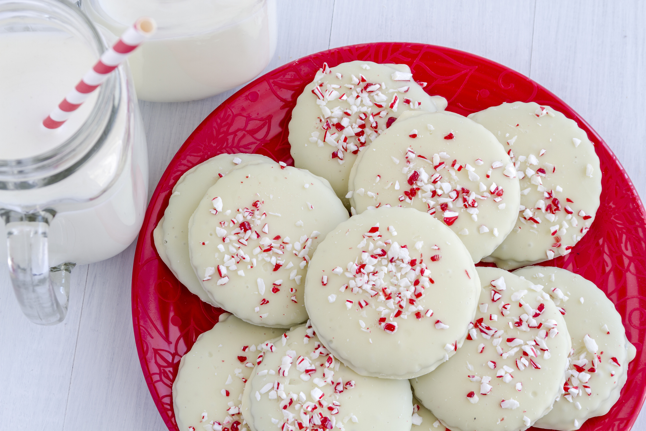 3. Candy Cane Cookies