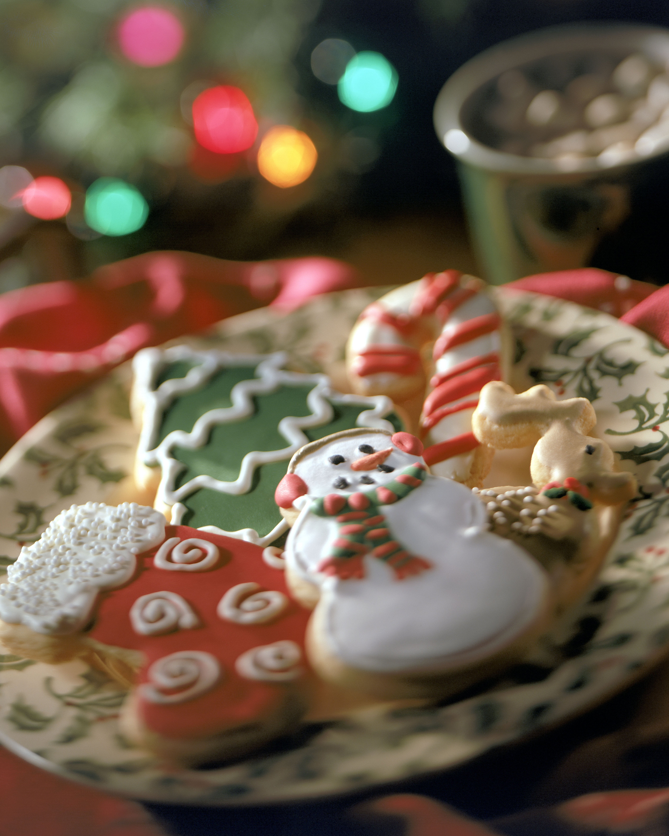 1. Frosted Sugar Cookies