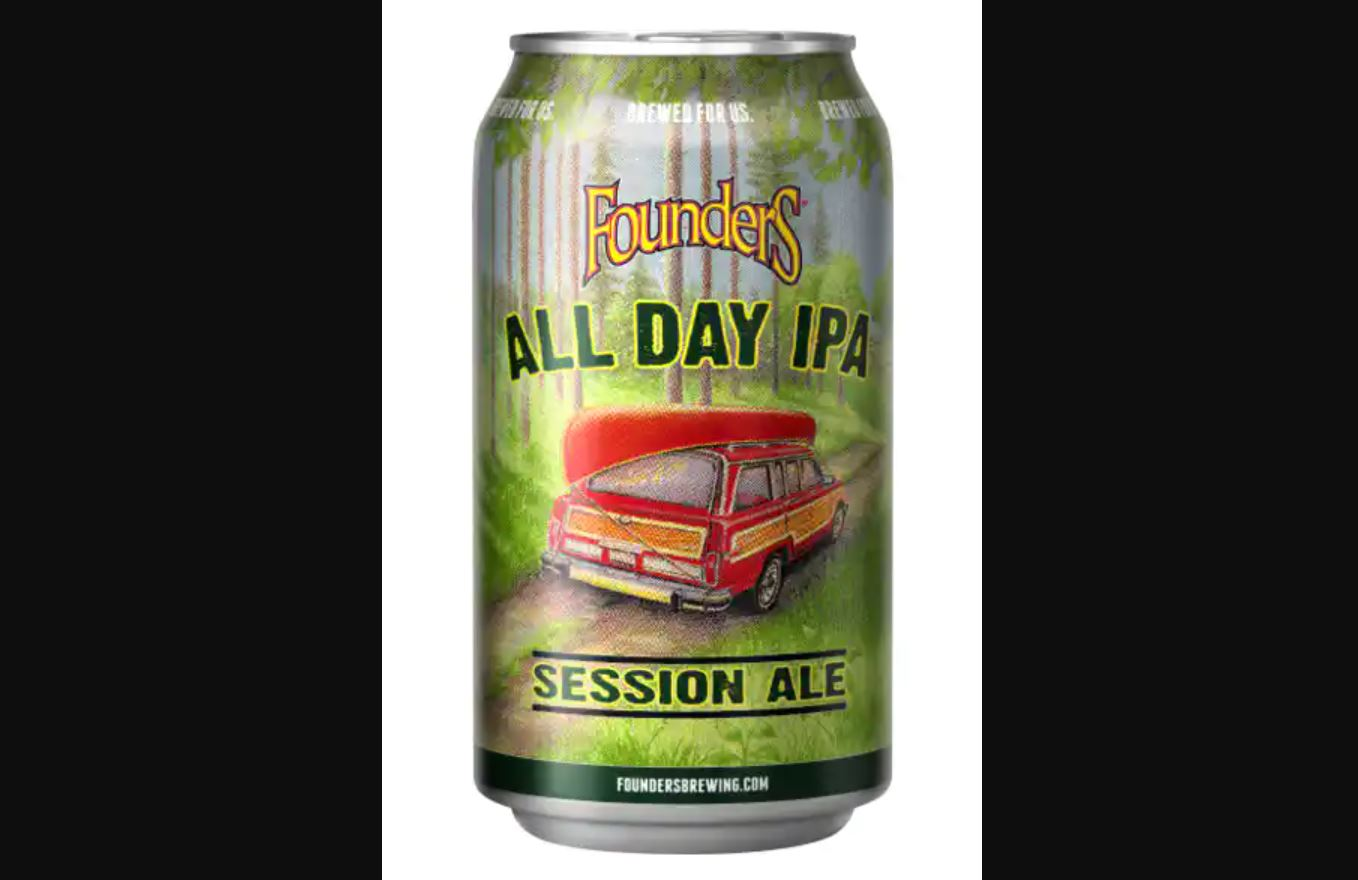 7) Founders All Day IPA (Session)
