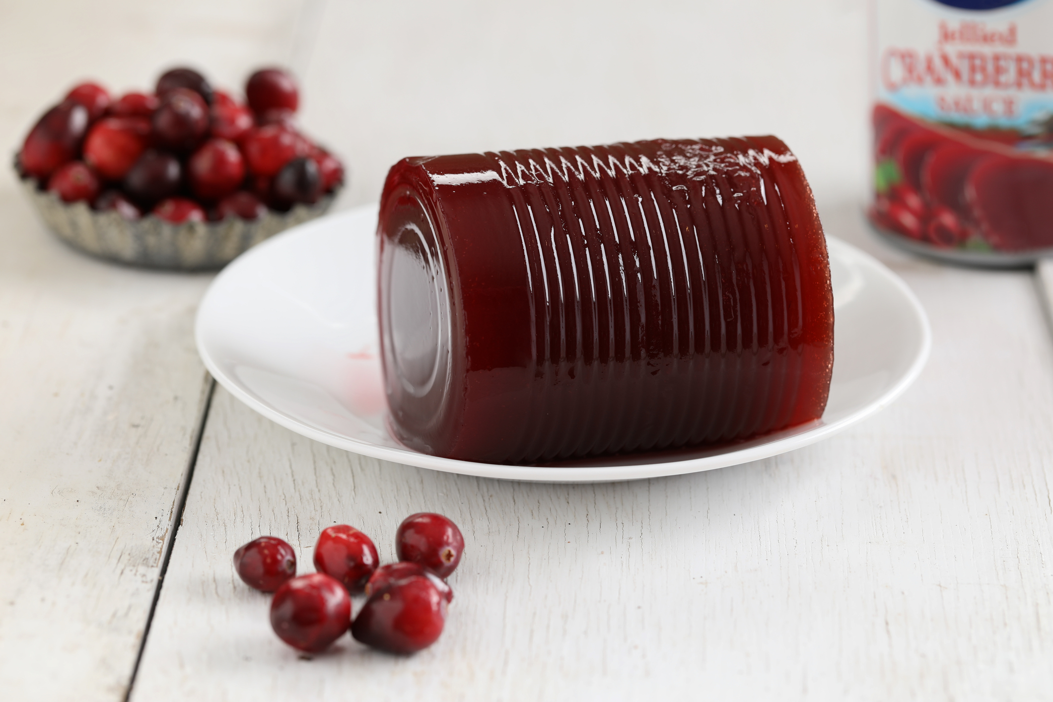 3. Canned Cranberry Sauce