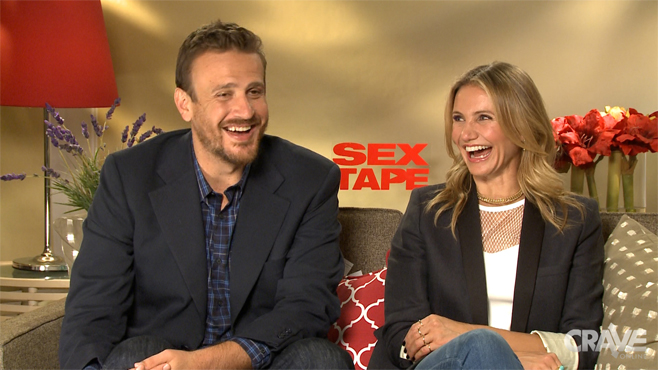 Sex Tape: Jason Segel & Cameron Diaz on Deleted Sex Acts