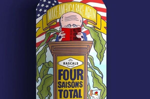 8. Brewery Trolls Rudy Giuliani With Its Four Saisons Landscaping Beer, We Support Canning Rudy For Good
