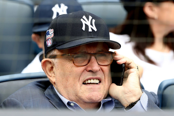 6. Rudy Giuliani Disgusted by Yankees Players Taking 'Disgraceful' Knee For Black Lives Matter, All This While Creating a Podcast and Going Publicly Insane