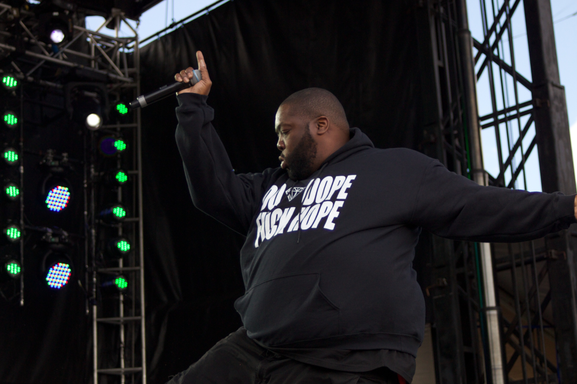 Run The Jewels at Governor's Ball 2014