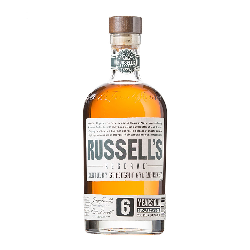 3. Russell's Reserve Kentucky Straight Rye