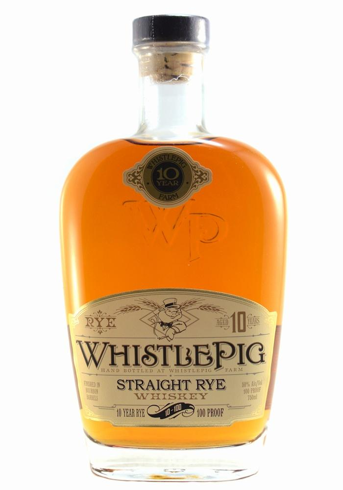 1. WhistlePig Straight Rye