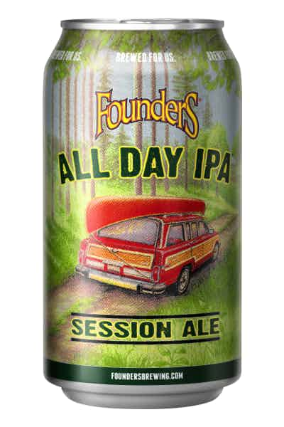 7) Founders All Day IPA (ABV: 4.7 percent)