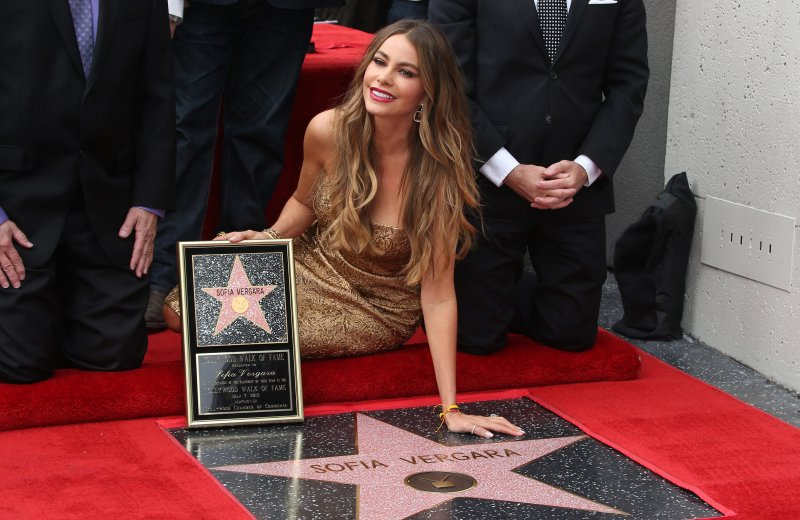 SOFIA VERGARA HONORED WITH STAR ON THE HOLLYWOOD WALK OF FAME Featuring: Sofia Vergara Where: HOLLYWOOD, California, United States When: 07 May 2015 Credit: FayesVision/WENN.com