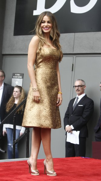 Sofia Vergara is honored with a star on The Hollywood Walk of Fame Featuring: Sofia Vergara Where: Los Angeles, California, United States When: 08 May 2015 Credit: Apega/WENN.com