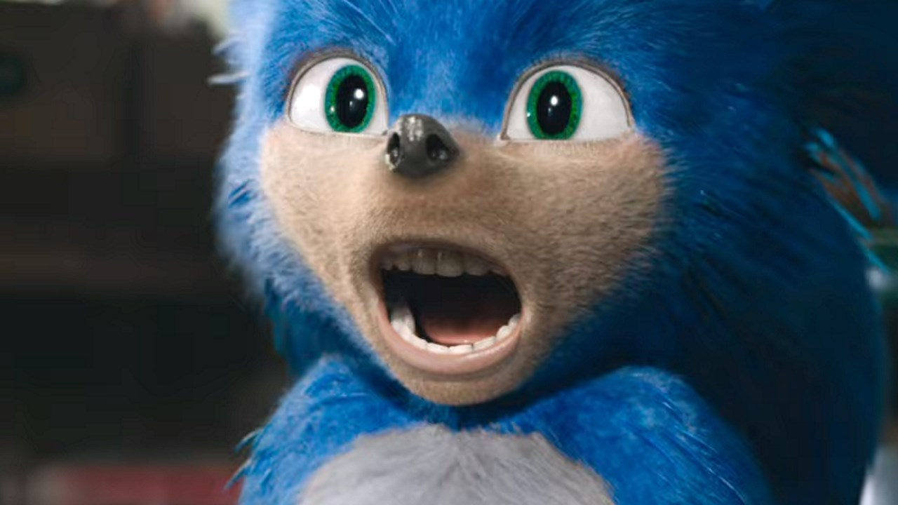 What's up with Sonic's teeth?