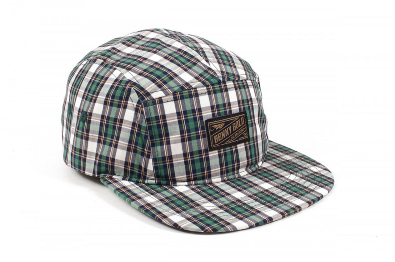 Benny Gold, Orchard Green Plaid 5 Panel