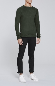 Native Youth, Olive Altitude Knit