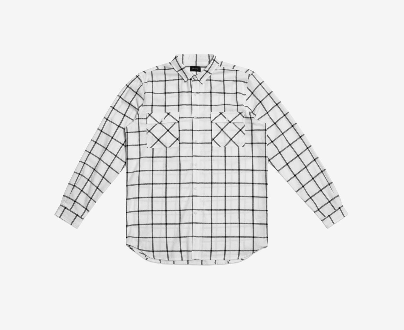 Stampd Elongated Off The Grid Flannel
