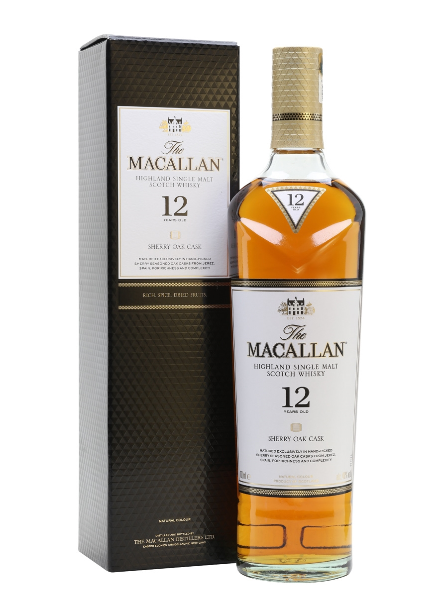The Macallan 12 Year Old Scotch Whisky