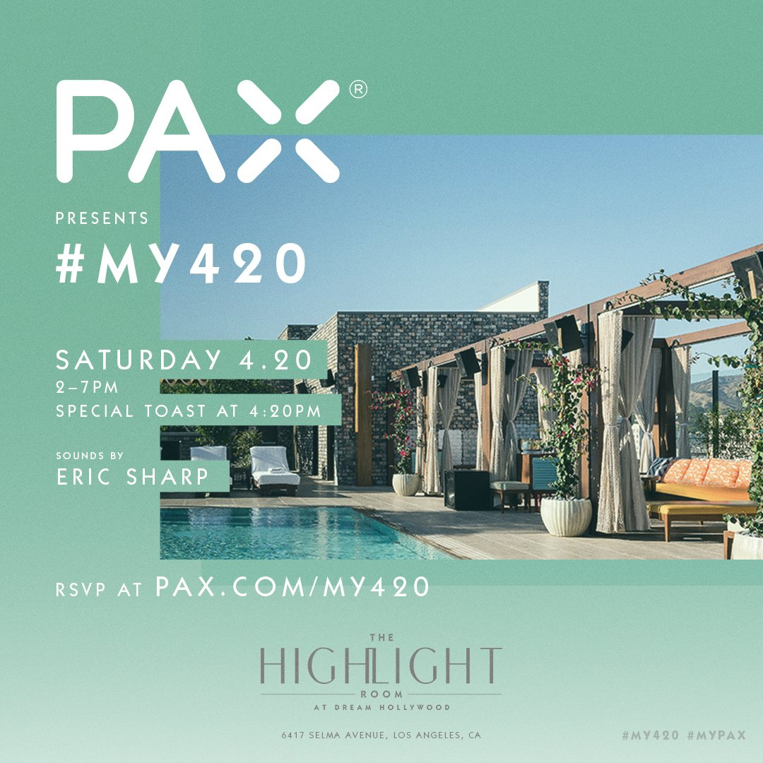 #My420 At The Highland Room In The Dream Hotel Hollywood