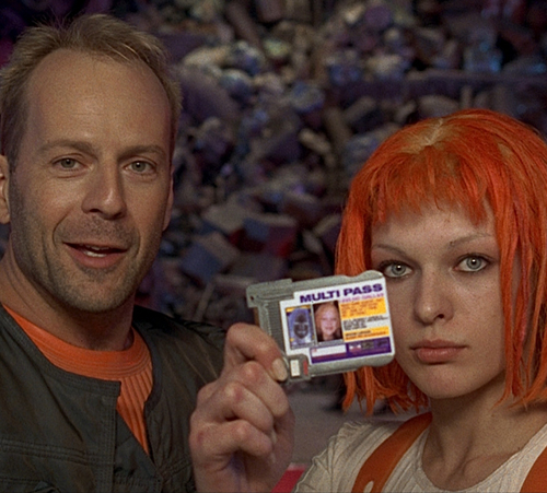 10. The Fifth Element (1997)
