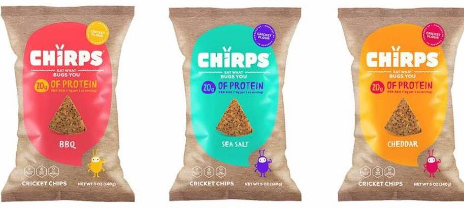 Chirps Cricket Chips
