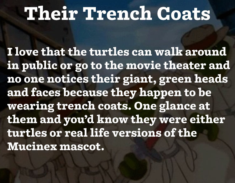 Their Trench Coats